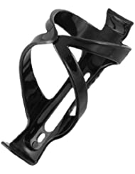 Montura de botellas para bicicleta (plástico), color negro