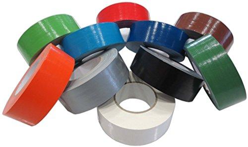 Klebeband Grün 50mm x 50m Gaffa Tape Gewebeklebeband Premium