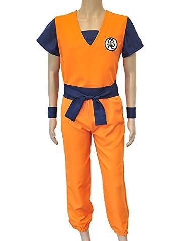 CoolChange déguisement dogi de Son Goku de la série de la Tortue Géniale de Dragonball. Taille: