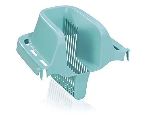 Leifheit Auspress-Sieb Combi für Bodenwischer Combi M & XL, passend für Leifheit Eimer Combi M & XL, komfortables Auspressen ohne Hände im Schmutzwasser und ohne Bücken