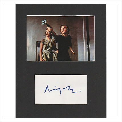 Logan 's Run - Michael York Original Authentic Autogramm AFTAL COA