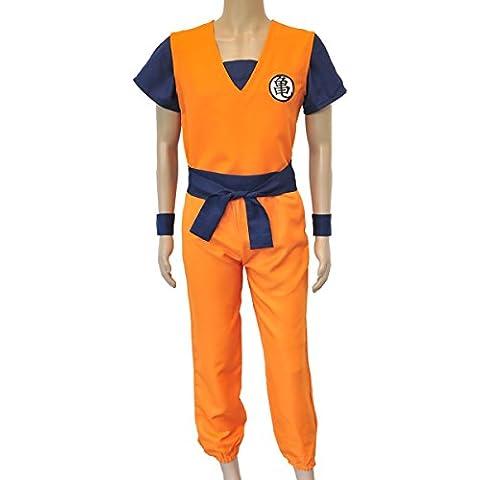 CoolChange disfrace dogi de entrenamiento de Son Goku de la serie Dragon Ball. Talla: XL