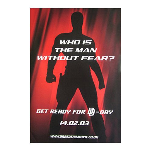 Poster - Daredevil - Who is the ma [Size 51 cm x 76 cm]