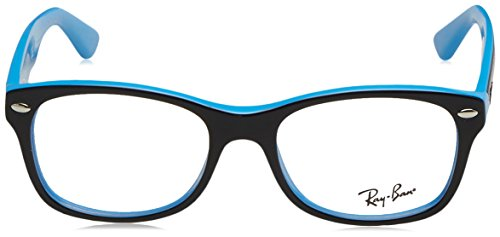 Ray-Ban bimbo - RY 1528,Rondes acétate enfant Top Black On Azure