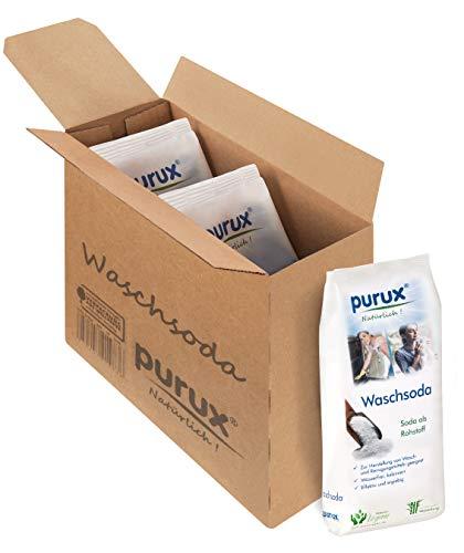 3kg Waschsoda purux reine Soda Pulver nachhaltig verpackt