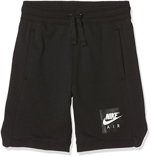 Nike Jungen Air Shorts, Black/White, M -