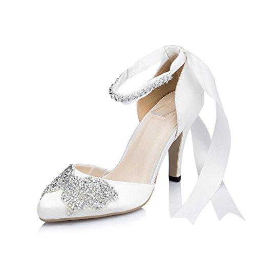 Kevin Fashion , Chaussures de mariage tendance femme Beige - ivoire