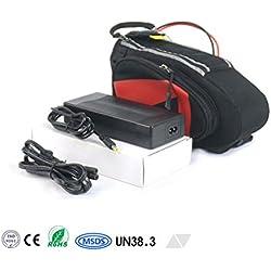 36V 10Ah 360Wh Akkupack in Tasche Pedelec E-Bike ebike Scooter Lithium-Ionen Akku Batterie Battery mit BMS & Ladegerät