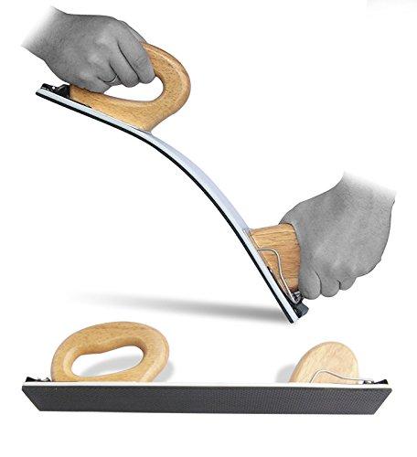 Handschleiffeile Schleifhobel Benbow handhobel flexibel hobel - D 70mm x 400mm (502)