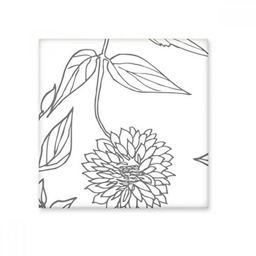 DIYthinker Mutterkraut Abstrakt Pflanzen Kunst-Muster glatt Fliesen Badezimmer Küchen-Wand-Stein Dekoration Fertigkeit-Geschenk
