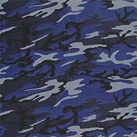 ROYAL BLUE, light blue, grey & black CAMOUFLAGE Bandana