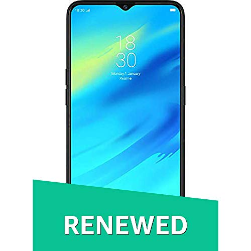Renewed  Realme 2 Pro RMX1801  Black Sea, 4 GB RAM, 64 GB Storage  Smartphones