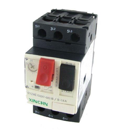 DealMux 3P Motor Starter-Leistungsschalter-Schutz, 9-14 Amp, 690V (208-v-motor)