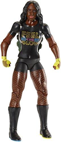 Mattel FMD82 WWE Naomi 15 cm Basis Figur, Spielzeug Actionfiguren ab 6 Jahren