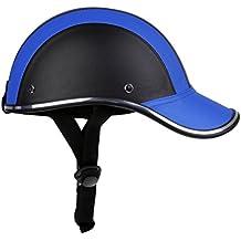 MagiDeal Gorra Casco Protector de Cabeza de Béisbol Motocicleta Moto Anti-UV Visor de Sombrero
