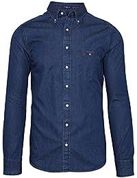 Gant - Chemise gant oxford bleu