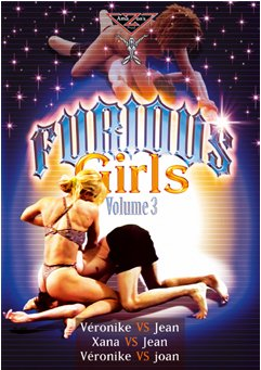 French mixed wrestling - FURIOUS GIRLS VOL.3 (Female vs Male) DVD Amazon's Prod