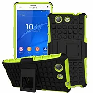 Generic Spider Dual Color TPU Stand Case Cover For Sony Z4 Mini