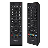 Grock CT-90326 mando a distancia compatible de repuesto para Toshiba TV/LCD/LED, aplicable 32LV713B 32 AV636DB 32 AV713B 32 AV635DB 32 AV615DB 32RV635D 37RV635D 40LV713B 40LV665DB 42 AV635D