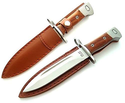 KOSxBO® Outdoormesser UDSSR 47-26cm - Abfangmesser - Gürtelmesser - Bajonett - Angelmesser - taktisches Messer - Hunting Knife- Inklusive Gürteltasche