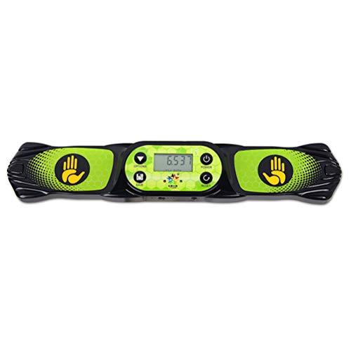 Lecc Speed   Stacking Cup Würfel Timer, Sensor Board mit Stimme Das Spiel empfiehlt die Verwendung genauer Daten zum Übertragen und Speichern,Black -