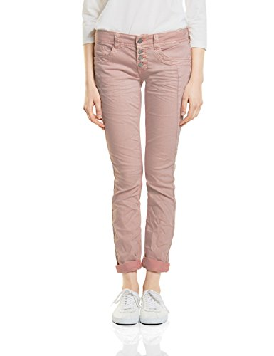 Street One Damen Slim Jeans 371230 Crissi, Rosa (Pale Rose Washed 11320), 44 (Herstellergröße: 34) (Jeans Rose Hose)