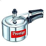 Prestige 1.5 Liter Nakshatra Polished Aluminum Cooker, Silver - MPN11560