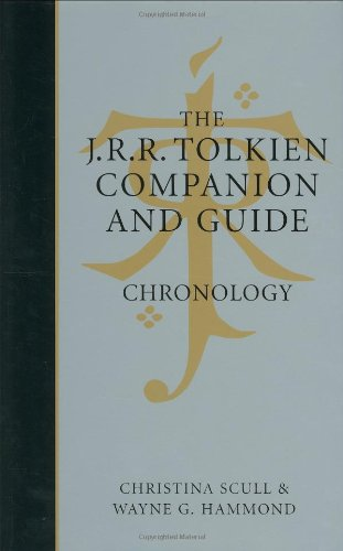The J.R.R. Tolkien Companion & Guide: Chronology: 1