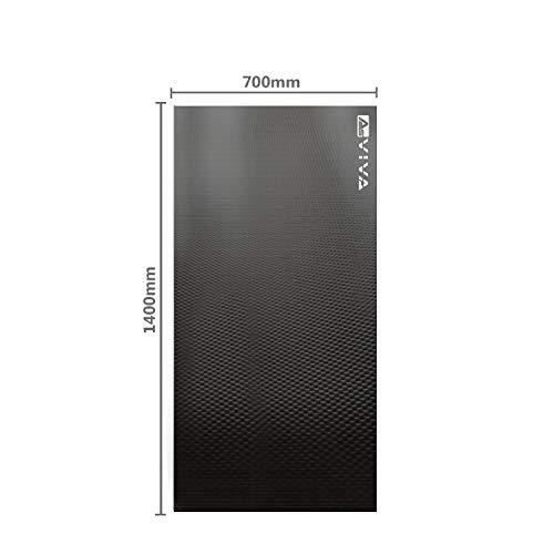AsVIVA Fitnessgeräte Bodenschutzmatte UM1 140x70cm Unterlegmatte