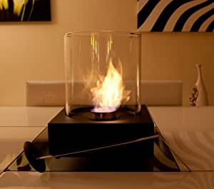 Sphère de Table au Bio éthanol pour chauffage de terrasse
