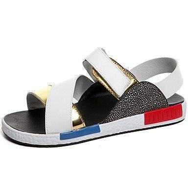 Stile libero Casual Unisex sandali tacco piatto Sandbeach Scarpe estive di alta qualità di slittamento sulle scarpe vestono scarpe per /Outdoor/Casual Gold
