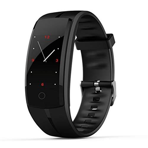 JIEGEGE Bluetooth Smart Watch, Männer Frauen Sport Armband Fitness wasserdichte GPS Blutdruck Smart Armband, Mehrere Sportarten, Für iPhone Android Phone Smart Talk Bluetooth