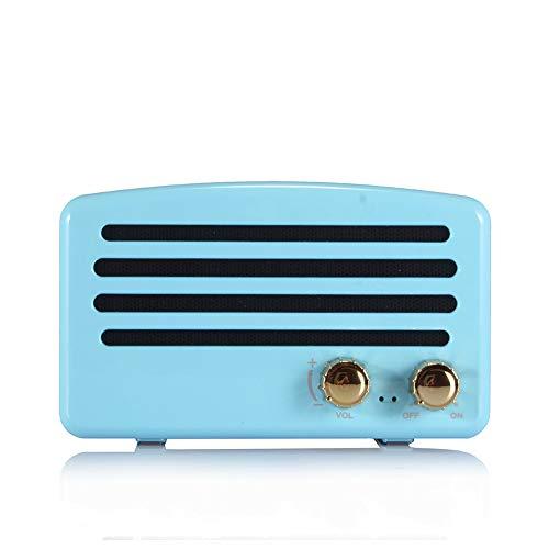 Mfun-Jakcom Tech Retro Bluetooth Portable Lautsprecher Wireless Creative Gift Outdoor Sport Mini Speaker,Black