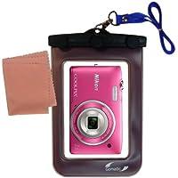La pochette étanche Clean and Dry conçue pour l'appareil photo Nikon Coolpix S3400