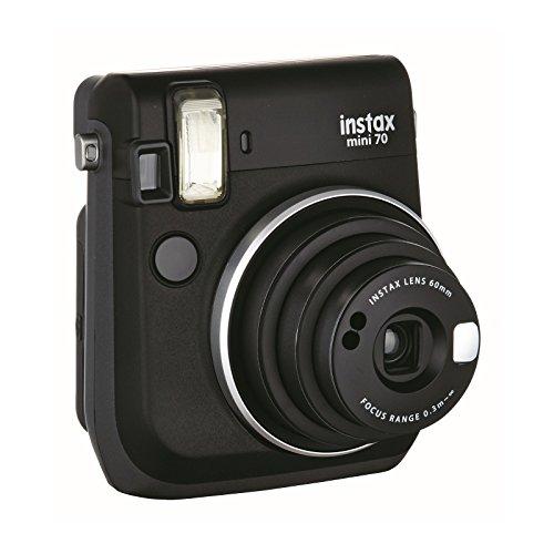 Galleria fotografica Fujifilm Instax Mini 70 Midnight Black Fotocamera Istantanea per Stampe Formato 62x46 mm, Nero