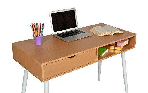 Scrivania Ufficio Faggio : Scrivania regolabile in altezza faggio con piano inclinabile