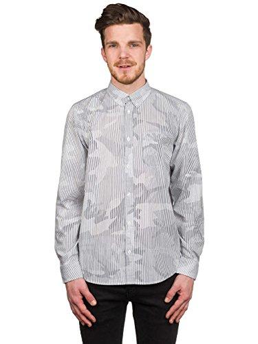 Herren Hemd lang Carhartt WIP Camo Pinstripe Shirt LS