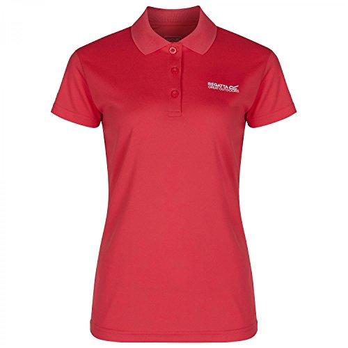 Regatta Womens/Ladies Maverik III Wicking Quick Dry Polo Shirt Paisley Purple