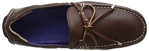Sebago Kedge Tie, Mocassins Homme Marron - Brown (Dk Brown Leather)