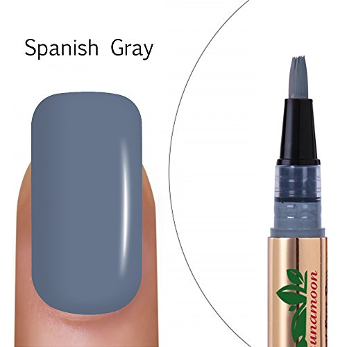 Lagunamoon UV LED ablösbarer Nagellack Gellack Set nail Gel Polish für Nageldesign-Nude 6 Farbe Geschenk Set 8ml (Kompatible Uv-lampe)