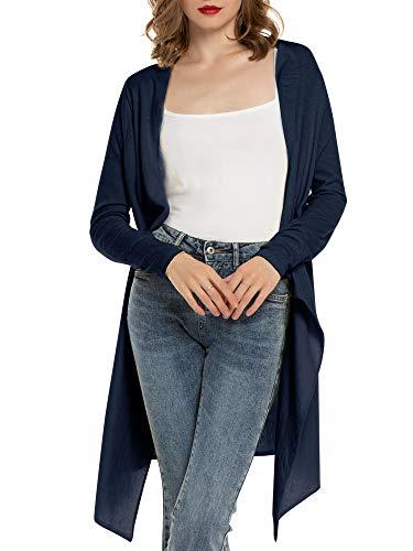 Cardigan Mujer Verano Camisa Blusa Manga