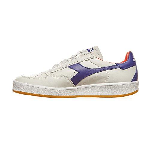 Diadora, Uomo, B. Elite Italia, Pelle, Sneakers, Bianco Bianco