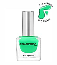 Colorbar Colorbar Luxe Nail Lacquer, Lime Margarita 096, 12ml
