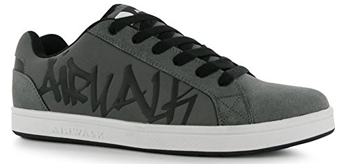 mens-lightweight-neptune-street-style-skate-shoes-9-43-charcoal