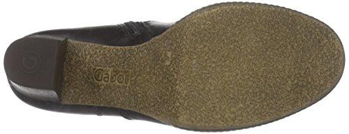 Gabor Simmons, Stivaletti alla caviglia, imbottitura leggera donna Nero (Schwarz (schwarz (Micro) 67))
