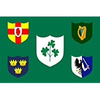 Ireland Rugby Flag 5 x 3 FT - Seasonal Superstore