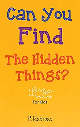 Can You Find the Hidden Things?: Fun Hidden Picture Images