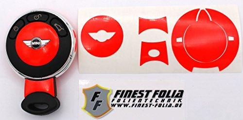 neon-rot-schlussel-skin-folien-dekor-von-finest-folia-passend-fur-mini-f56-r50-r53-r55