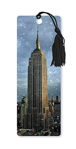 dimension-9-3d-lenticular-bookmark-with-tassel-empire-state-building-christmas-winter-in-new-york-ci