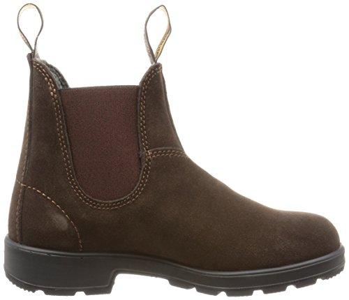 Blundstone Classic Suede Unisex-Erwachsene Chelsea Boots Braun (Brownbrown)